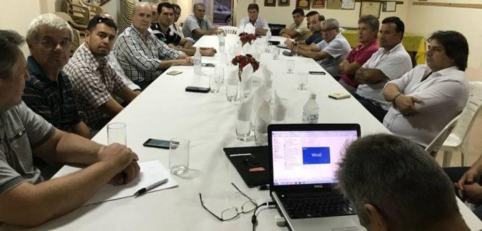 Importante reunión en Angélica