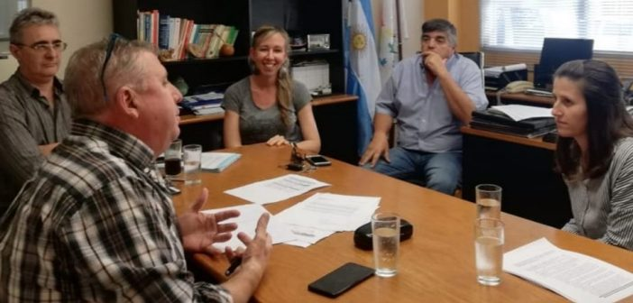 Reunión con propietarios del loteo «La Albertina»